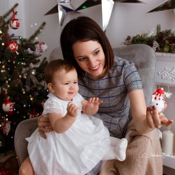Sesja rodzinna świąteczna Warszawa (1)
