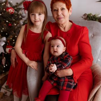 Sesja rodzinna świąteczna Warszawa (9)